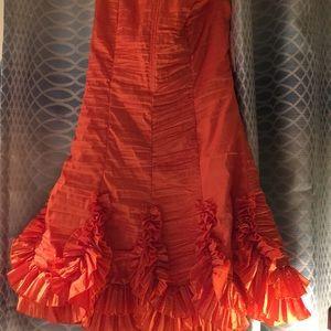 Jessica McClintock mini dress